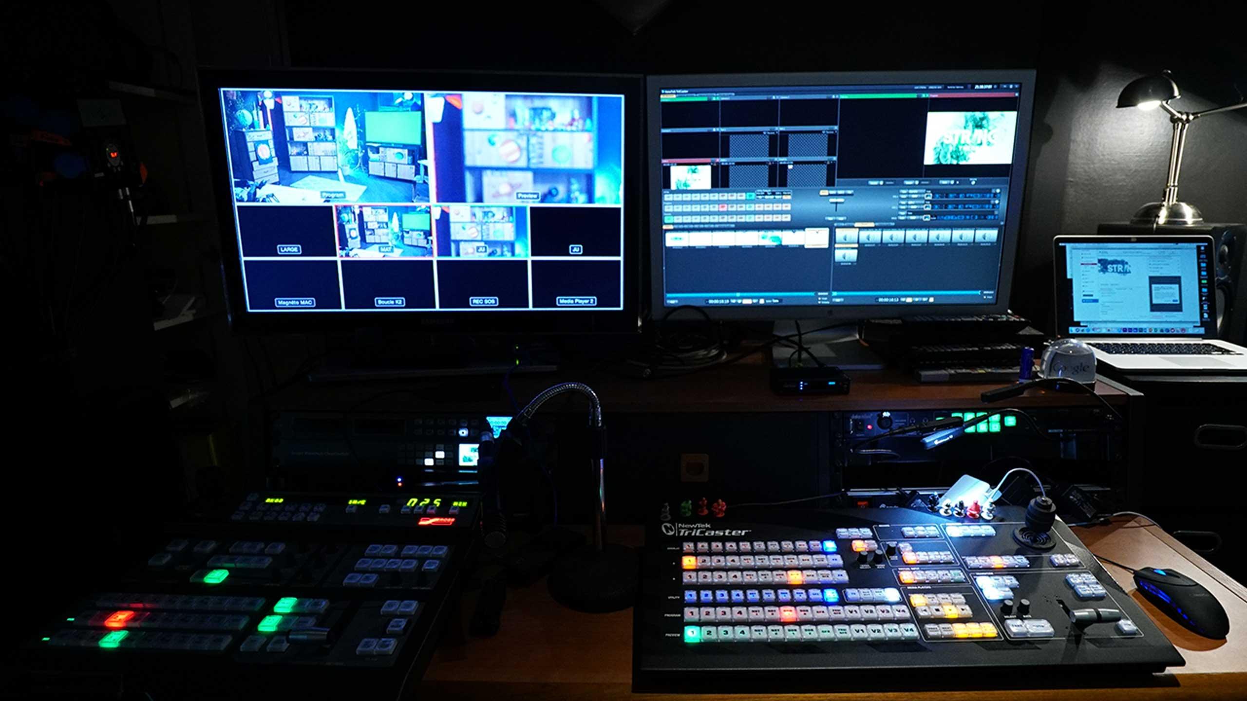Régie live multicam à Paris - Videology Studio