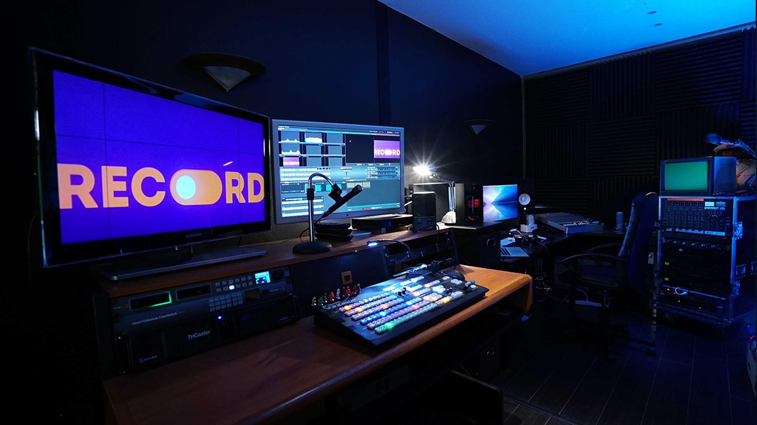 Régie live multicam - Videology Studio