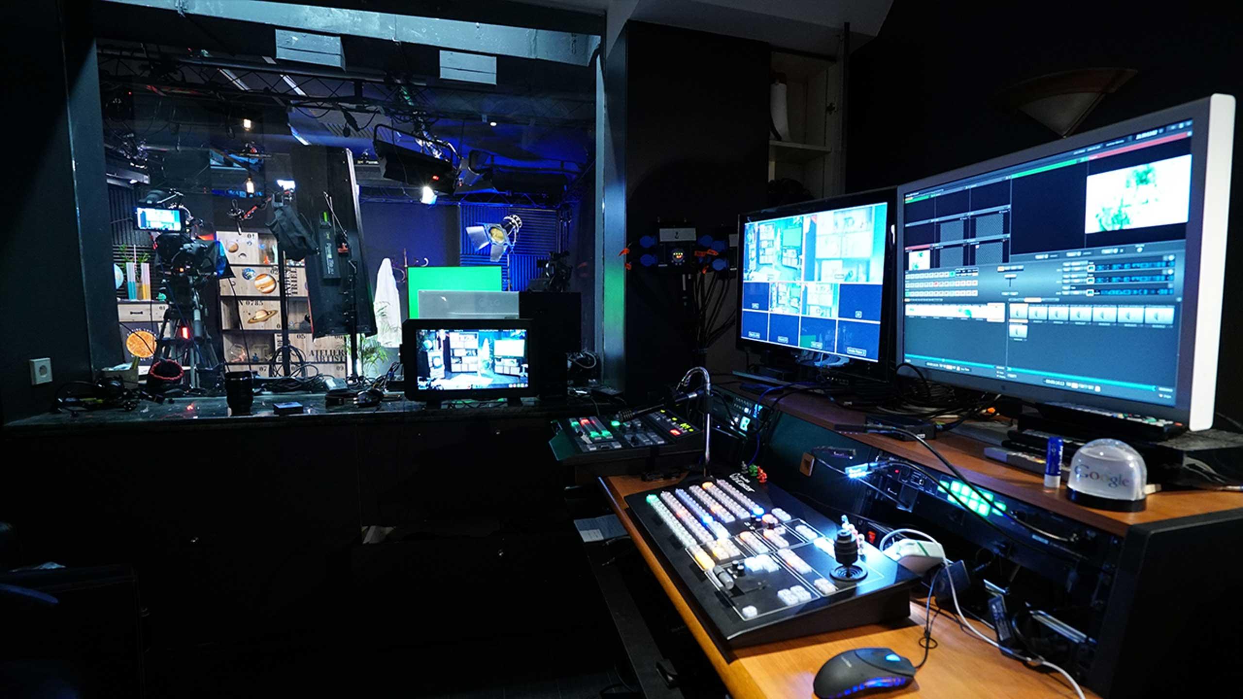 Régie multicam live YouTube à Paris - Videology Studio