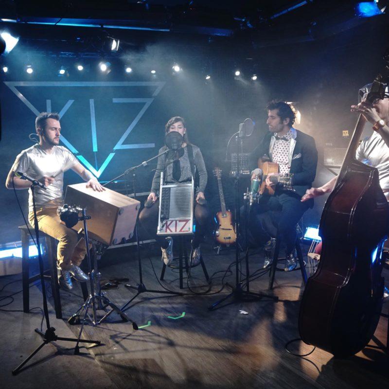Concert live streaming - studio de tournage à Paris - Videology