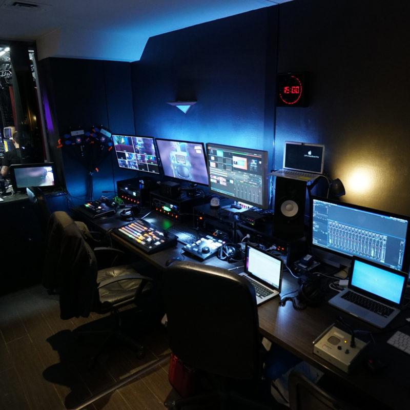 Studio de tournage pour émission en direct Paris - Videology Studio