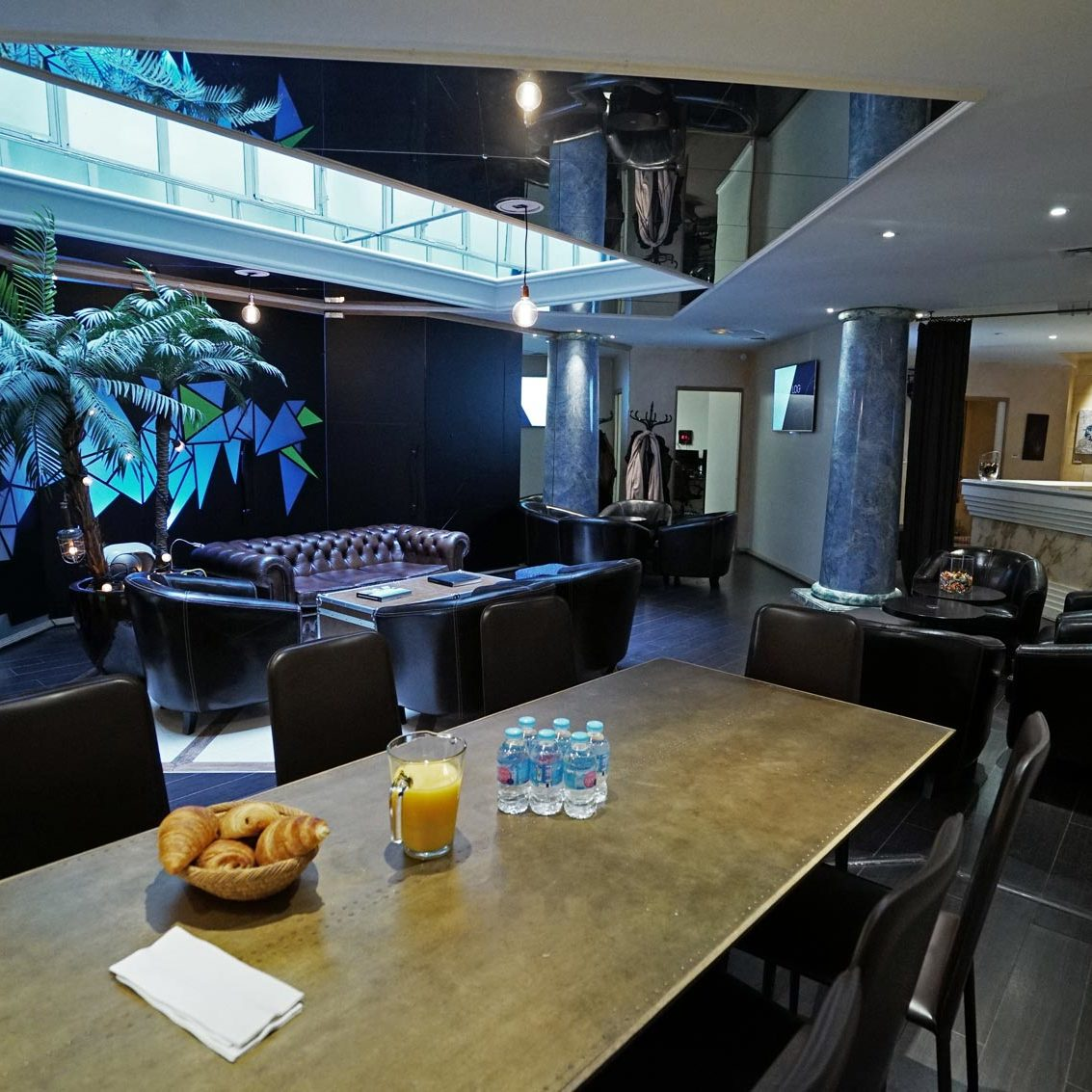 Lounge - green screen studio in Paris - Videology Studio