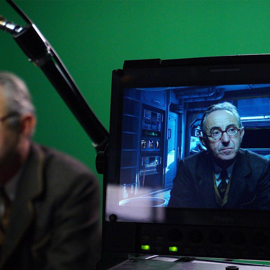 Green screen chroma key studio - film studio in Paris - Videology