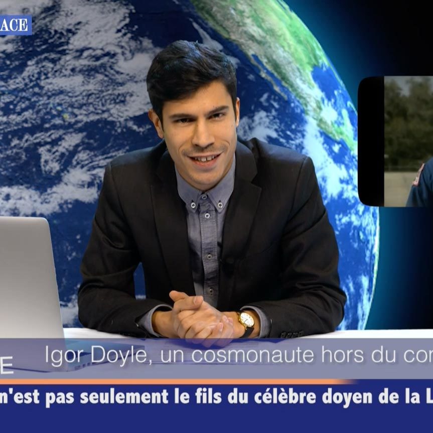 Virtuel TV set - film studio in Paris - Videology